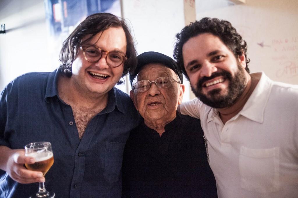 Rogério Caetano brilha ao lado do violonista e compositor Yamandu Costa e o multiinstrumentista e lenda viva Zé Menezes