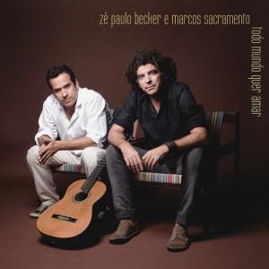 """Album cover """"Todo mundo quer amar"""", from Zé Paulo Becker, Marcos Sacramento and Paulo César Pinheiro"""